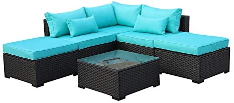 Rattaner Outdoor Wicker Sofa Set