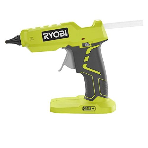 Ryobi P305 One+ 18V Lithium Ion Cordless Hot Glue Gun w/ 3 Multipurpose Glue Sticks (Battery Not Included / Power Tool Only)