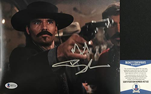 JOHNNY RINGO!!! Michael Biehn Signed TOMBSTONE 8x10 Photo #1 Beckett BAS