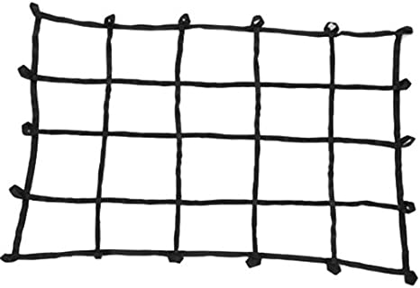 PROGRIP 901700 Cargo Net for Transport Storage and Vehicle Small Mid Size Truck Bed Web Netting with Multi-Attachment Loops 60 x 46 60 x 46