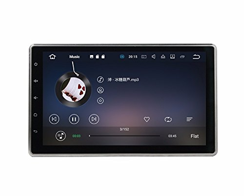 BoCID 2GB RAM Quad Core 10.1'' Android 7.1 Universal Car dvd player gps navigation With Car Radio Bluetooth WIFI 16GB ROM TV USB DVR by BoCID (Image #2)