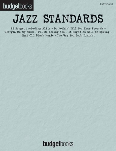 Jazz Standards: Easy Piano Budget Books