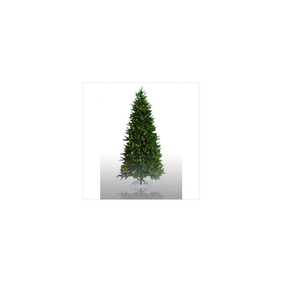 Vickerman E88318   X 8.5 Prelit Colorado Spruce Artificial Christmas Tree Light Color Multicolored Lights