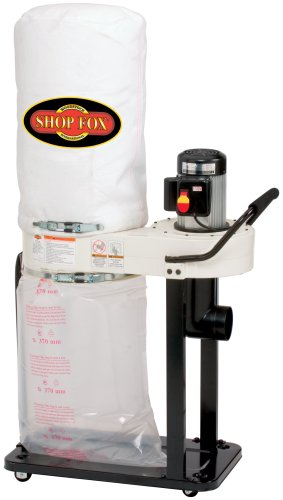 SHOP FOX W1727 1 HP Dust Collector 1 Phase Dust Collector