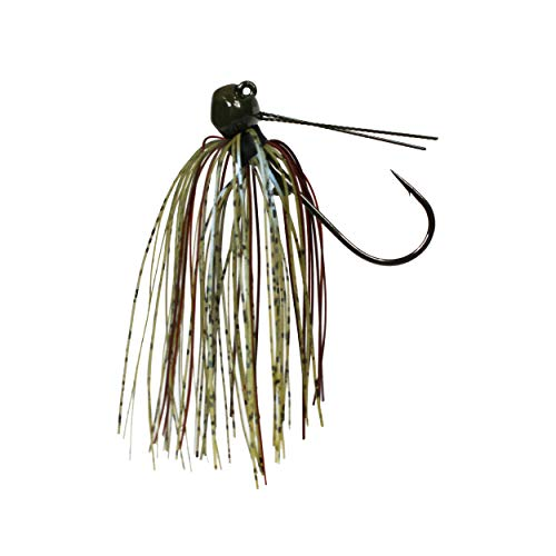 Tackle HD Stealth HD Finesse Jig, Skirted Football Jig, 5/16 Ounce, GP Magic Craw