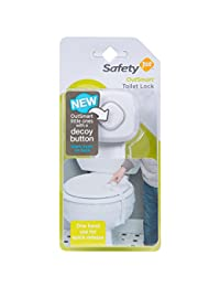 Safety 1st Outsmart Toilet Lock, White, One Size BOBEBE Online Baby Store From New York to Miami and Los Angeles