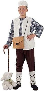 DISBACANAL Disfraz Pastor niño - Sin bastón, 10 años: Amazon.es ...
