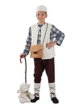 DISBACANAL Disfraz Pastor niño - Sin bastón, 10 años: Amazon ...
