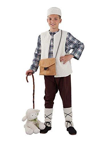 DISBACANAL Disfraz Pastor niño - con bastón, 4 años: Amazon.es ...
