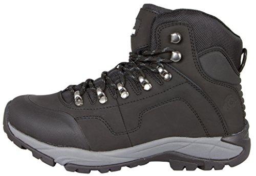 Et Montantes Guggen Noir Homme Boots Mountain Randonnee Hiking Bottes Chaussures M012 Unisex Impermeables De Iw641x