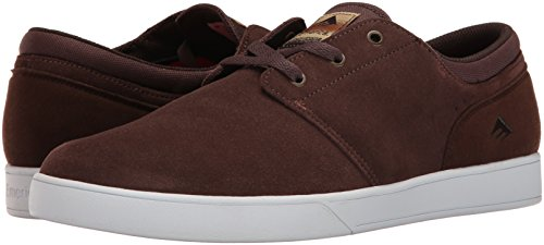 Emerica The Figueroa, Color: Brown/White/Gum, Size: 44 Eu / 10.5 Us / 9.5 Uk