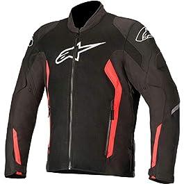 Alpinestars V2 AIR JACKET:BLACK RED FL:L