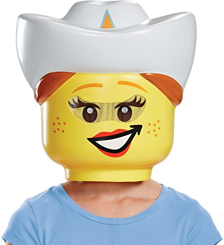 Child's Girls LEGO Iconic Characters Cowgirl Mask Costume Accessory