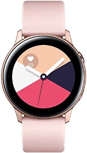 Samsung Galaxy Watch Active - 40mm, IP68 Water Resistant, Wireless Charging, SM-R500N International Version (Silver)