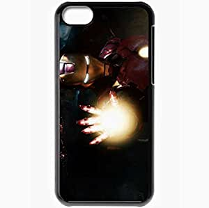 Personalized iPhone 5C Cell phone Case/Cover Skin 2010 iron man 2 movie still movies Black
