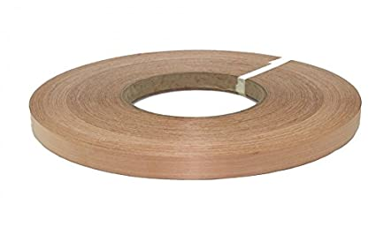 Alder Pre Glued 7 8 X20 Wood Veneer Edge Banding Amazon Com