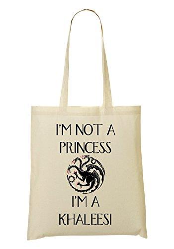 I'm Not A Princess I Am Khaleesi Bolso De Mano Bolsa De La Compra