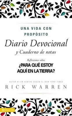 Download Una Vida Con Proposito Diario Devocional( Para Que Estoy Aqui En La Tierra? = The Purpose-Driven Life)[SPA-VIDA CON PROPOSITO DIARIO][Spanish Edition][Hardcover] ebook