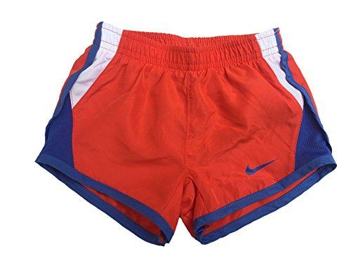 c97818e546811 Galleon - NIKE Girls' Dry Tempo Running Shorts (Max Orange(262139-N22)/White,  2T)