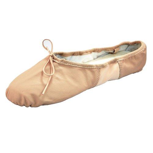 Bae11 Rose Cuir De Semelle So Danca Ballet Chaussures En Fendue nwqvFxZ7