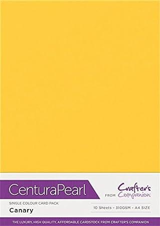 Baby Pink 10 Pack cardstock 34.4 x 22.5 x 0.5 cm Centura Pearl Solo Color Rosado Paquete de 10 Hoja