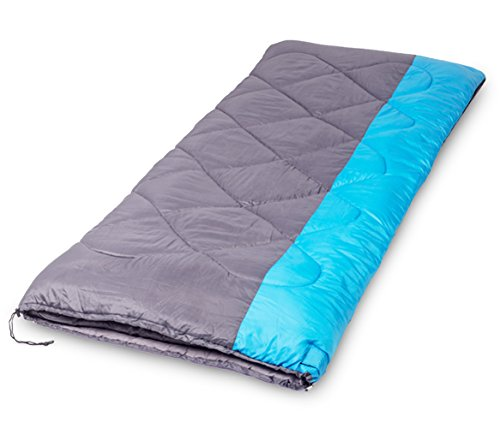 Gwei Sleeping Bags – ECO Friendly Materials – Water Resistant & Machine Washable – Two Bags can be Zipped Together – 35℉ Available – Perfect for Camping,Hiking (Sky Blue) (Blue) (Blue)