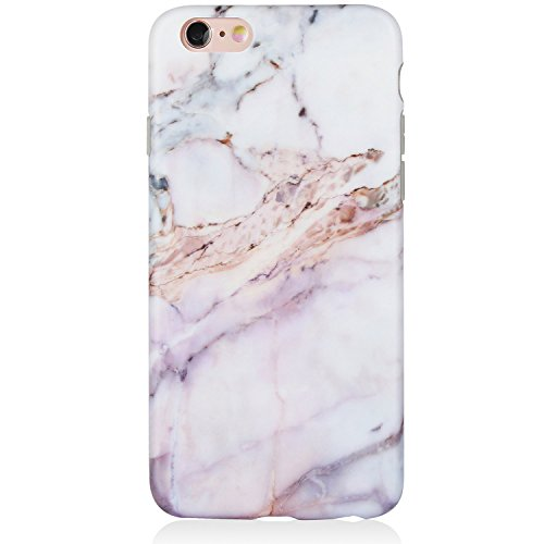 iPhone 6 Case,iPhone 6s Case,Marble iPhone 6 Case Pink Girls,DICHEER Pink Case iPhone 6/6S,Anti-Scratch Soft Case Cover,IMD TPU Case iPhone 6/6s 4.7 only - 19