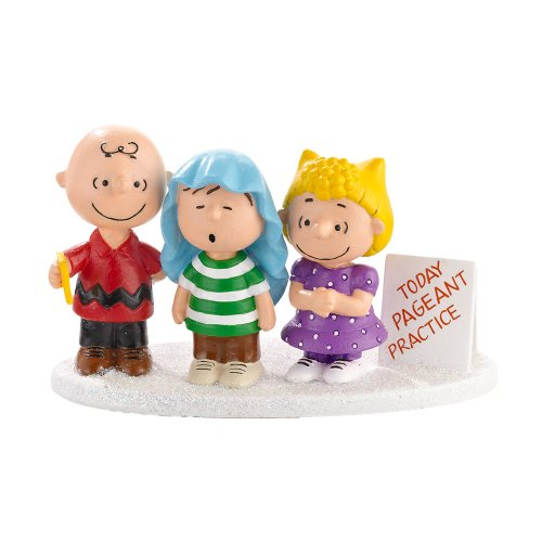 Department 56 Peanuts Village 3-Part Harmony Accessory, 1.77 inch