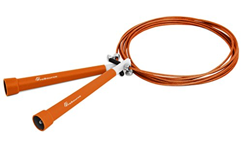 ProSource Speed Cable Jump Rope 10-Feet Orange