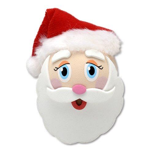 Tenna Tops Jolly Santa Claus Car Antenna Topper/Antenna Ball/Rear View Mirror Dangler/Auto Accessory