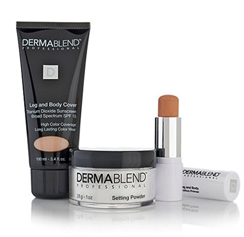 Kit Dermablend Leg & Body Cover (LIGHT) ~ Body Cover Maquillage / Mise en poudre / Tattoo Maquillage Primer