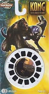 Viewmaster KONG 3 Reel Set - 8th wonder of the world