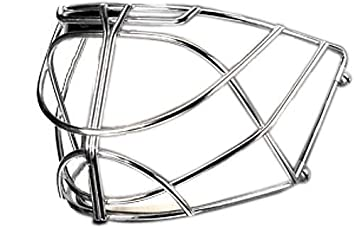 9b7c76db8b1 Image Unavailable. Image not available for. Colour  Bauer NME Non Certified  9   7 Cat Eye Goalie Cage