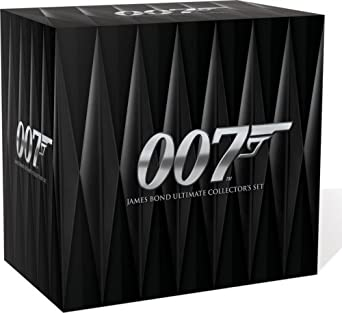 James bond ultimate edition 44 disc set dvd special edition.