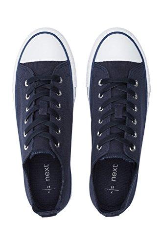 Lacci Baseball Da Con Navy In Next Blu Sneakers Tela Donna TvxwnRqa
