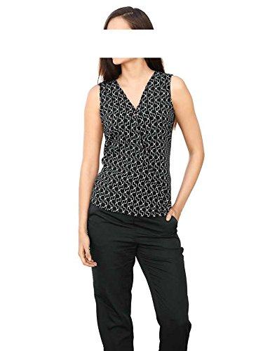 RICK CARDONA - Camisas - Opaco - para mujer negro-blanco