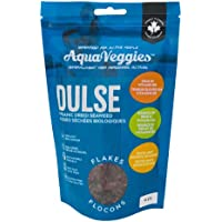 Aqua Veggies Organic Atlantic Dulse Flake 4 oz Hand-Harvested, Sun-Dried Bay of Fundy (Atlantic Dulse Flake, 4 Oz Pack)