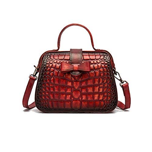 Sac Style Ethnique Rétro Pour Mode AJLBT Chinois à Femme Voyage Sac Red Main Minimaliste xAR4ncwq0H