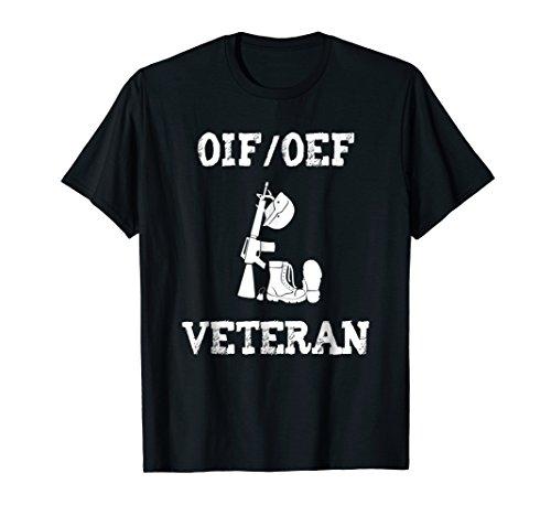OIF OEF Iraq Afghanistan Veteran Tshirt