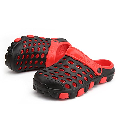 Minotta Red Mules Black Men Homme RxO8rR