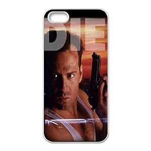 Die Hard iPhone 5 5s Phone Case WhiteH6008966