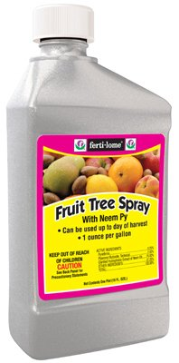 Voluntary Purchasing Group Fertilome 10131Fruit Tree Spray With Neem 16-Ounce