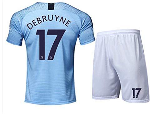 LISIMKE Soccer Team 2018 19 Manchester City Home Kevin De Bruyne 17 Mens  Replica Jersey Shorts 3a63a4b67