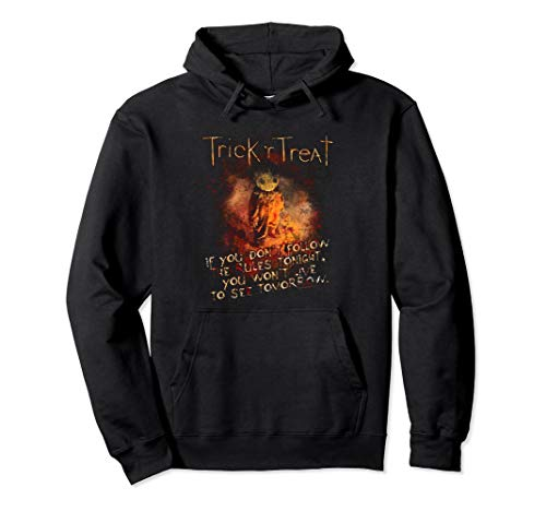 Trick 'r Treat Rules Pullover Hoodie -