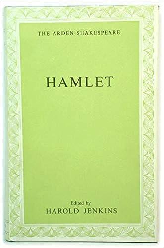 hamlet testo a fronte  Hamlet: : William Shakespeare, Harold Jenkins: Libri in ...