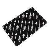 LamourBear Arrows Thin Print Rectangle Doormat Kitchen Floor Runner Floor Mat Entry Mat Home Decor Carpet Indoor