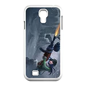 Samsung Galaxy S4 9500 Cell Phone Case White League of Legends Arctic Warfare Caitlyn SH3090313