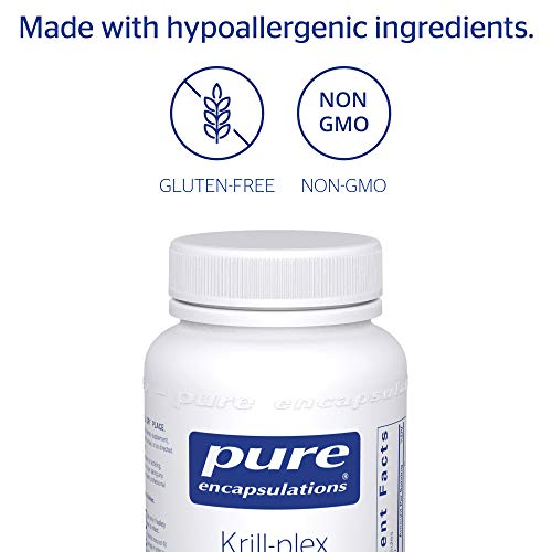Pure Encapsulations - Krill-Plex - Supports Menstrual Comfort, Heart Health, Joint Support, Cognitive Function and Skin Health* - 120 Softgel Capsules by Pure Encapsulations (Image #3)