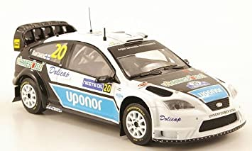 Amazon.com: Ford Focus WRC, No.20, Uponor, WRC, Rally Finland, 2008, Model Car, Ready-made, IXO 1:43: IXO: Toys & Games