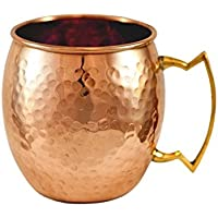 Zap Impex® Pure Copper Moscow Mule Cup, sin